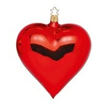"""Weihnachtskugel """"Herz"""""""