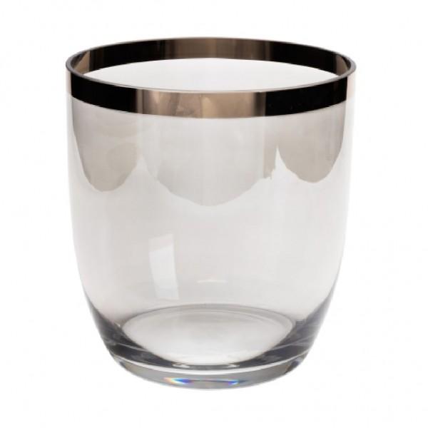 "Vase ""Penelope"" grau L"