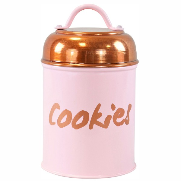 "Vorratsdose ""Cookies"" rosa"