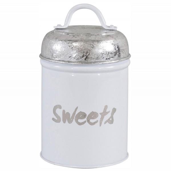 "Vorratsdose ""Sweets"" weiss"