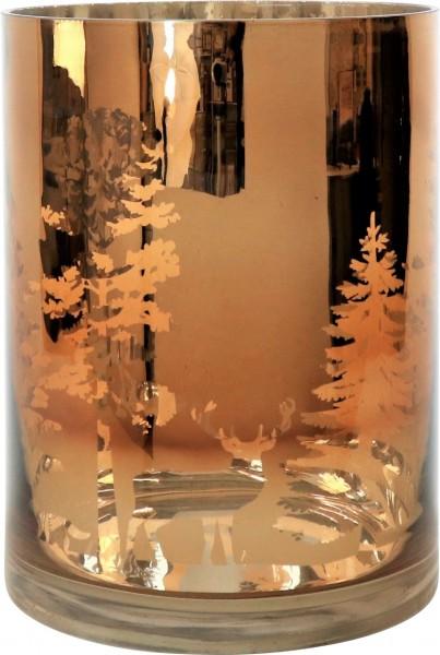 """Windlicht/ Vase """"Zauberwald"""", M"""
