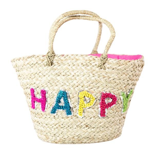 Korbtasche Happy