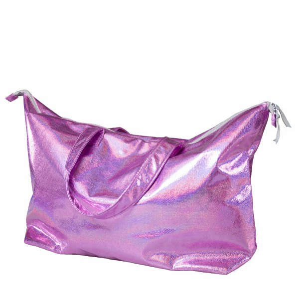 "Beachbag ""Metallic Hotpink"""
