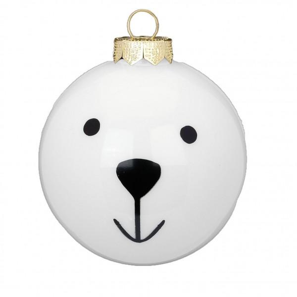 "Weihnachtskugel ""Eisbär"""