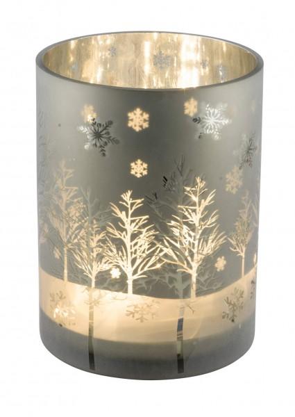 """Glaswindlicht """"Bäume gefrostet"""" , L"""
